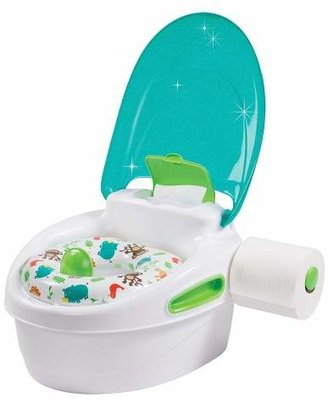 Summer Infant 3 Stage Potty Trainer - White & Blue