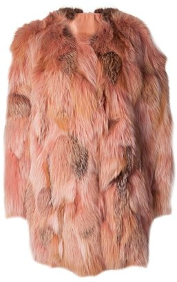 Lanvin fox fur jacket
