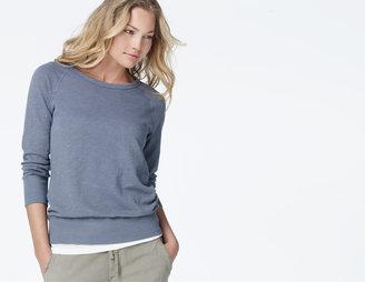 James Perse Lightweight Fleece Sweatshirt