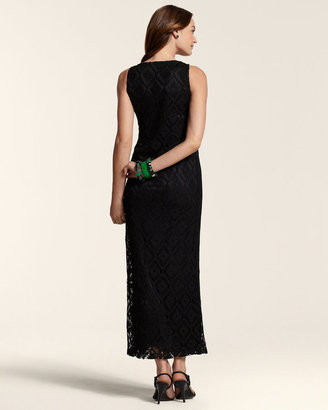 Chico's Cassandra Crochet Dress