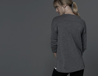 James Perse Active Thermal Football Tee