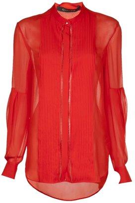Roberto Cavalli round collar blouse