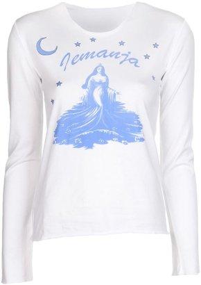 Lucien Pellat-Finet Lucien Pellat Finet 'Lemanja' graphic t-shirt
