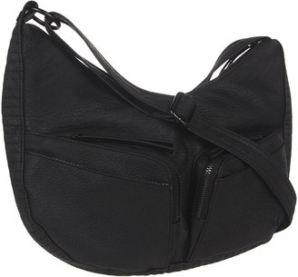 Nixon The Beat Low Slung Hobo (All Black) - Bags and Luggage