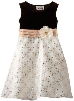 Rare Editions Girls 7-16 Organza Dress