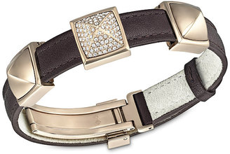 Swarovski Tactic Leather Bracelet
