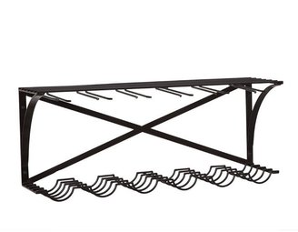Pottery Barn Industrial Entertaining Shelf