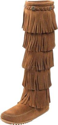 Minnetonka Women's 5-Layer Fringe Boot