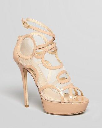 Jerome C. Rousseau Platform Sandals - Treide High Heel
