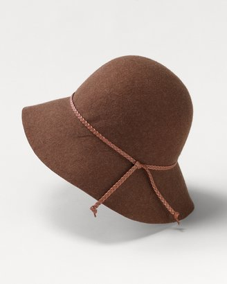 Coldwater Creek Bucket felt hat