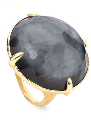 Ippolita Round Hematite Gelato Ring