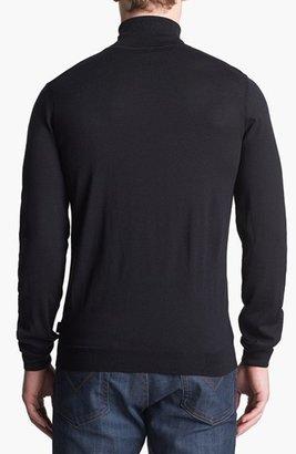 HUGO BOSS 'Musso' Turtleneck Merino Wool Sweater