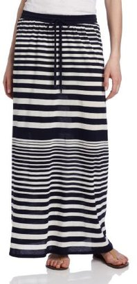 Vince Camuto Two by Women's Nautical Stripe Maxi Skirt