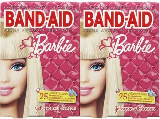 Safety First Band-Aid Barbie Bandages - 50 ct