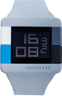 Converse Watch, Unisex Digital High Score Gray Silicone Strap 47mm VR014-080