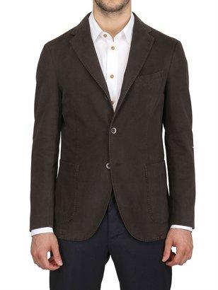 Boglioli Deconstructed Moleskin Cotton Jacket