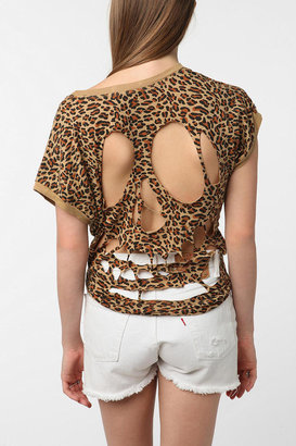 Truly Madly Deeply Cutout Back Tee