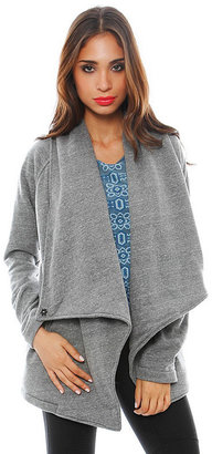 Singer22 Garbe Luxe Chloe Cardigan in Grey