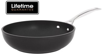 Le Creuset Forged Hard-Anodized 9.5 Deep Fry Pan (Black) - Home