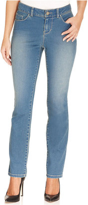 Style&Co. Petite Jeans, Skinny Curvy-Fit, Coastal Wash