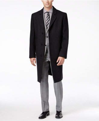 London Fog Signature Wool-Blend Overcoat $350 thestylecure.com