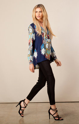 Hale Bob Skylyn Woven Tunic - Navy Sold Out