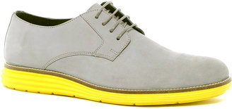 Asos Derby Shoes With Colored Sole