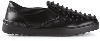 Valentino 'Rockstud' sneakers $1,075 thestylecure.com