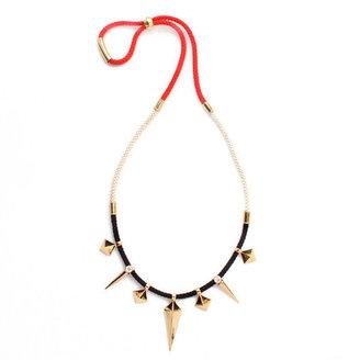 Noir Adjustable Pyramid Necklace