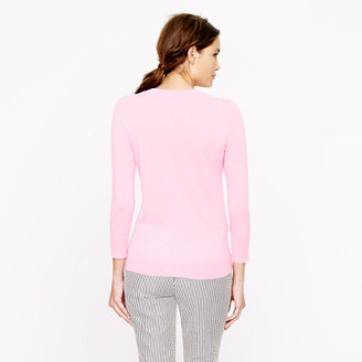 Sorbet Collection featherweight cashmere sweater in stripe