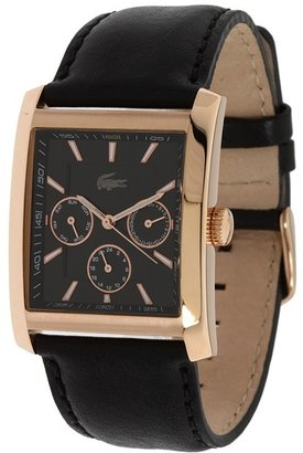 Lacoste 2010590 (Black/Rose Gold IP/Black Dial) - Jewelry