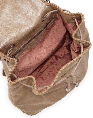 Stella McCartney Falabella Drawstring Backpack, Beige