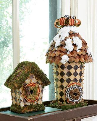 Mackenzie Childs MacKenzie-Childs Courtly Check Large Round Birdhouse