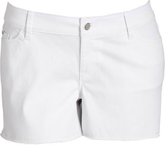 "Old Navy Women's Plus White-Denim Shorts (4"")"