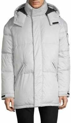 DKNY Classic Hooded Jacket