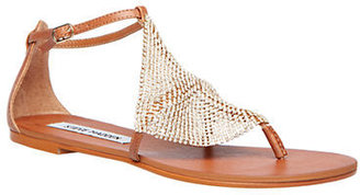 Steve Madden Shineyy Leather Sandals