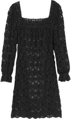 Anna Sui Crochet mini dress
