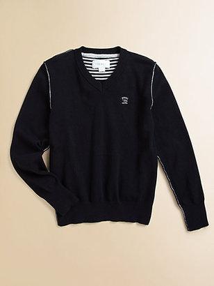 Diesel Boy's Kansy V-Neck Sweater