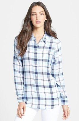 Equipment 'Capri' Plaid Silk Shirt