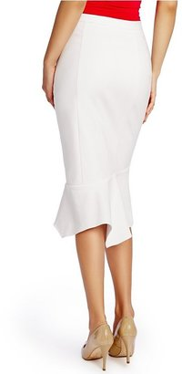 GUESS by Marciano Fia Pencil Peplum Skirt