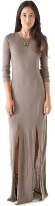 Kimberly Ovitz O by Anura Slit Maxi Dress