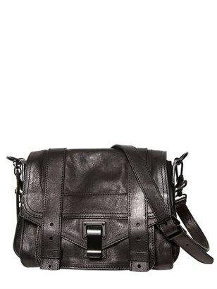 Proenza Schouler Ps1 Pouch Lux Leather Shoulder Bag