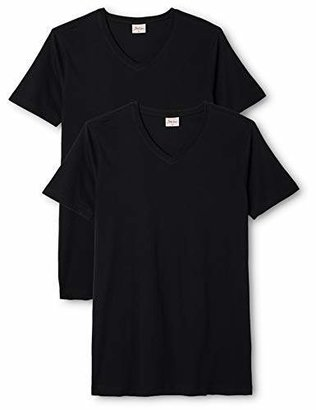 Signum Men's V-Neck 1/2 Sleeve Shirt,(Brand size: 3XL)