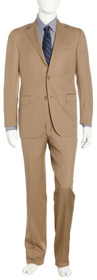 Hickey Freeman Two-Piece Suit, Tan