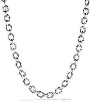David Yurman Oval Large Link Necklace, 18.25