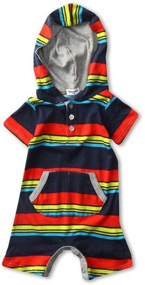 Splendid Littles Zuma Stripe Romper(Infant) (Barrel) - Apparel