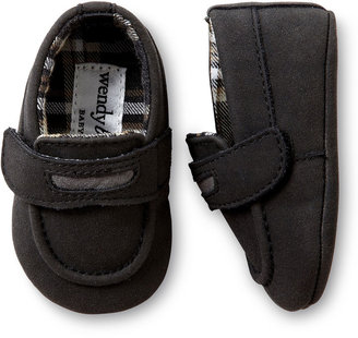 Wendy Bellissimo Brodey Infant Boys Black Loafers