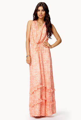 Forever 21 Fly-Away Floral Maxi Dress
