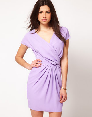 Asos Wrap Dress with Fitted Waist