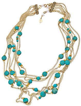 Rachel Reinhardt Layered Howlite Necklace